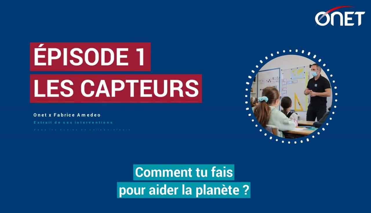 Podcast - Fabrice Amedeo sensibilise les enfants à la préservation des océans
